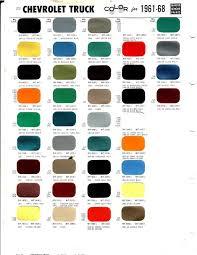 nason single stage paint color chart paint choice the cj2a page