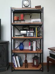 Bookshelves Home Depot by Edsal 60 In H X 30 In W X 12 In D Steel Canning Shelving Unit