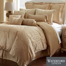 Comforters Bedding Lynath Gold Comforter Bedding By Waterford Linens Gold Comforter