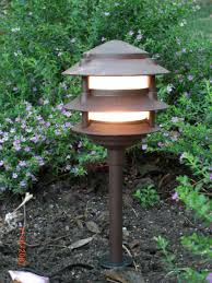 Led Landscape Lighting Low Voltage by Amazon Com Low Voltage Landscape 3 Tier Pagoda Lights