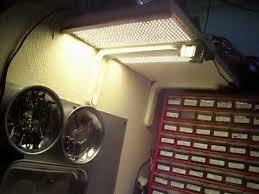 Workbench Lighting 600 Leds For Workbench Lighting Avi Youtube