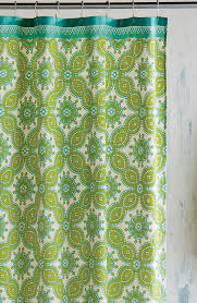 Blue And Green Shower Curtains Green Shower Curtains Decor By Color