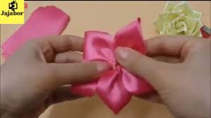 How To Make Wedding Decorations How To Make A Ribbon Rose Wedding Decorations Ribbon Rose