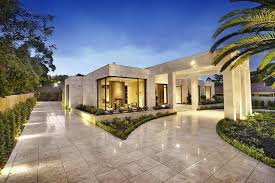 homes with interior courtyards luxury melbourne home with pillared entry and interior courtyards