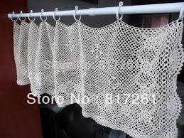 Cafe Curtain Pattern Filet Crochet Cafe Curtain Pattern Nrtradiant Com