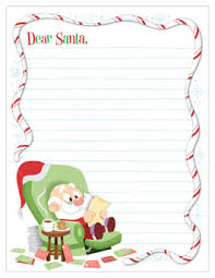 santa letters santa letter template hallmark ideas inspiration