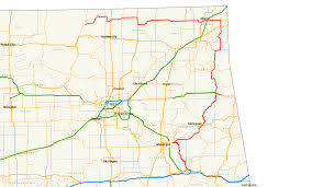 Map Of Oklahoma State by Oklahoma State Highway 10 Wikipedia