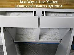 the best kitchen cabinet shelf liner best way to line kitchen cabinets and drawers con tact