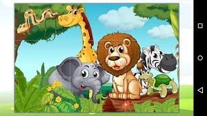 animal cartoon puzzle android apps on google play