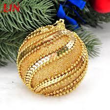 pendant 8cm golden decorative christmas high grade foam decoration