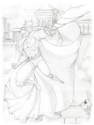 batman sketch by nana marchae on deviantart