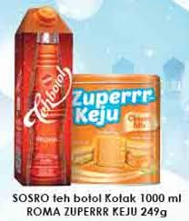 Teh Botol Sosro Kotak 1 Dus promo harga teh botol sosro minuman teh terbaru minggu ini hemat id