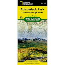 New York Appalachian Trail Map by New York National Geographic Store