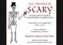 spooky halloween invitations u2013 fun for halloween