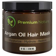 amazon com argan oil hair mask deep conditioner 8 oz leave in