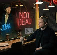 Sherlock Memes - the first image from sherlock series 3 is officially a meme the