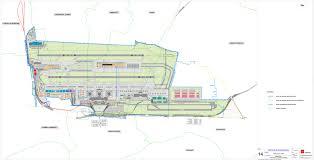 milan malpensa airport with 3rd runway u0026 mid field satellite