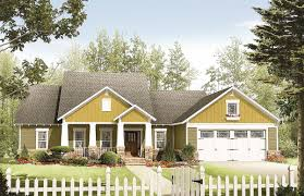 craftsman home plan with class 51064mm architectural designs