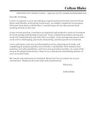 Finish Carpenter Resume Concrete Worker Cover Letter