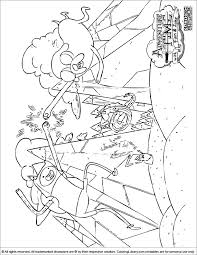 adventure coloring pages kids coloring