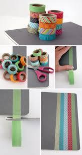 washi tape diy alice and loisdiy project u2013 washi tape notebook
