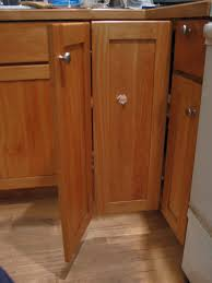 door hinges ana white wall corner pie cut kitchen cabinet diy