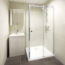 Small Shower Door Sliding Glass Shower Doors Mediterranean Showers With Accessories
