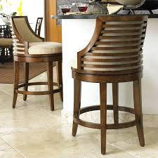 Counter Height Swivel Bar Stool Counter Stools With Backs Espresso Barrel Back Counter Stools Set