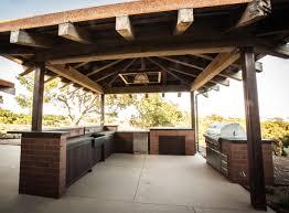 fresh outdoor kitchen pizza oven design taste