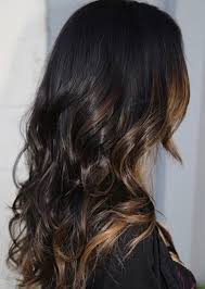 light brown hair with caramel highlights on african americans best balayage hairstyles for natural black hair