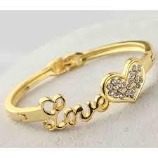bracelet gold love images Love bracelet jpg