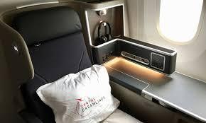 review qantas boeing 787 9 dreamliner business class seat