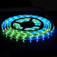 ip67 led strip lights 5m 5050 rgb 6803 ic single led strip light waterproof ip67 12v dc