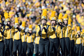 Iowa traveling pants images Why i 39 m a fan of the iowa hawkeyes i joined the hawkeye marching jpg