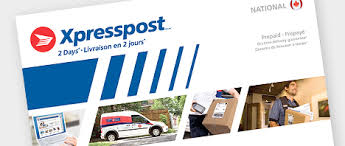 sending letters and documents canada post