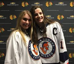 blackhawks ice crew halloween costume 2017 metro girls league champs named state championships march 17th