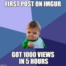 Meme Generator Imgur - success kid meme imgflip
