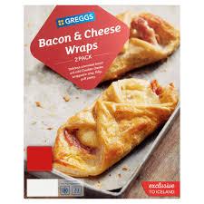 Greggs Halloween Cakes by Greggs 2 Bacon U0026 Cheese Wraps 194g Greggs Frozen Pies Frozen