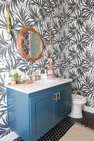 Bathroom Wallpaper Designs My Secret Weapon For Wallpapering Your Bathroom Driven By Decor