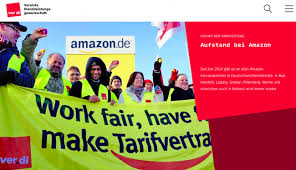 amazon germany amazon warehouse workers in germany continue strike actions in 2017