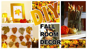 Easy Diy Home Decor Ideas Diy Autumn Fall Room Decor 3 Easy Diy Fall Home Decoration Ideas