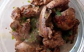cuisiner foie de volaille recette foies de volailles pochés au thé fumé 750g