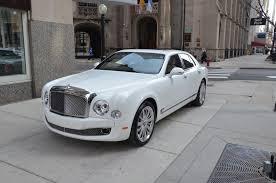 white bentley sedan 2013 bentley mulsanne stock b420 for sale near chicago il il