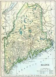 Portland Street Map by Maine Genealogy U2013 Access Genealogy