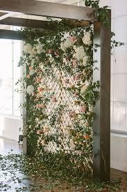 wedding backdrop lattice flower wall for wedding