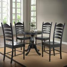 carolina cottage dining table carolina cottage fairview antique black pedestal dining table 3030t