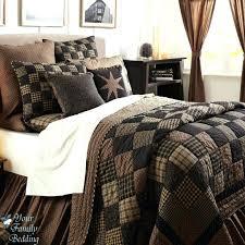 Black Comforter King Bedding Sets Bedroom Interior Nautica Plaid Bedspread Nautica