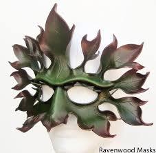 leather masquerade masks greenman leather mask ravenwood masks