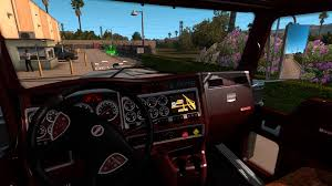 kenworth truck interior edit interior for kenworth w900 v1 1 by piva american truck