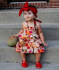 Thanksgiving Dress Baby Baby Thanksgiving Mifille